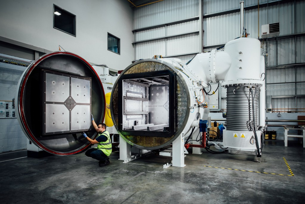 Vacuum furnace equipment moves
