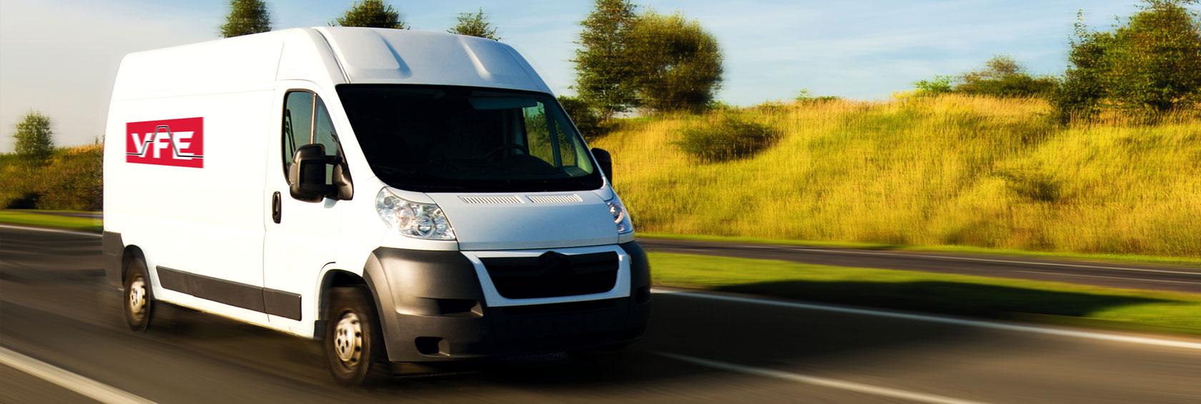 VFE service van