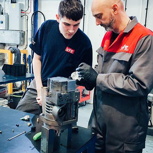 VFE invests in skills