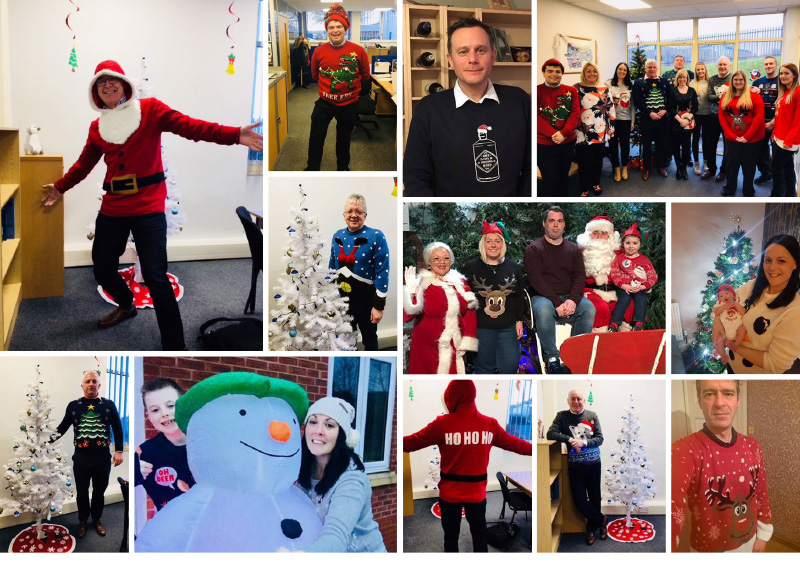 VFE Christmas jumpers