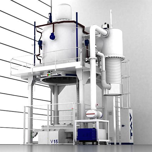 VFE TAV vertical bottom loading furnaces